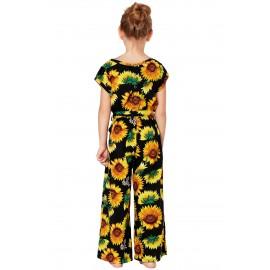 Black Sunflower Jumpsuit