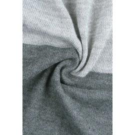 Gray Tiger Baby Receiving Blanket